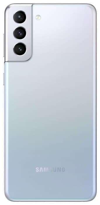 Смартфон Samsung Galaxy S21+ 8/256GB, серебристый