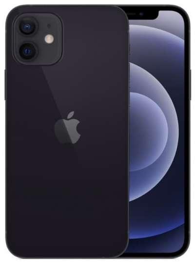 Смартфон Apple iPhone 12 mini 64GB, черный