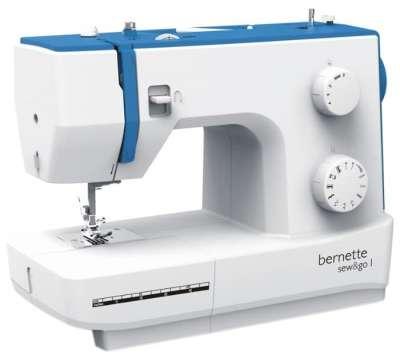 Швейная машина Bernette Sew&Go 1, белый/синий