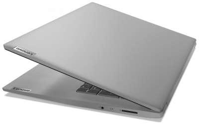 "Ноутбук Lenovo IdeaPad 3 17ADA05 17"" AMD Ryzen 3 3250U/4GB/1000GB/AMD Radeon Graphics/DOS, серый"