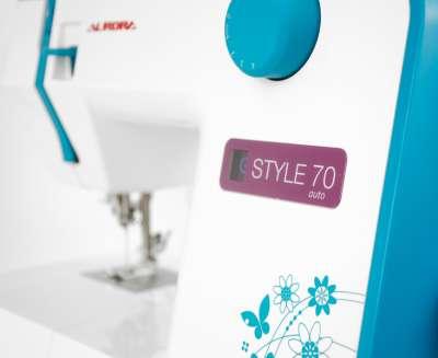 Швейная машина Aurora Style 70, синий
