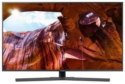"Телевизор Samsung UE55RU7400U 54.6"", серый"