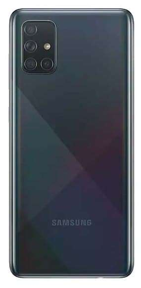 Смартфон Samsung Galaxy A71 6/128GB, черный