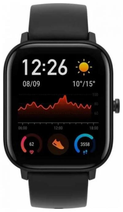 Умные часы Xiaomi Amazfit GTS, черный