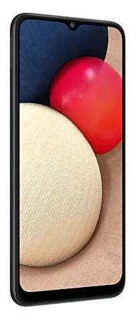 Смартфон Samsung Galaxy A02s 3/32GB, черный
