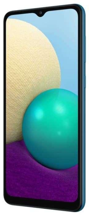 Смартфон Samsung Galaxy A02 2/32GB, синий