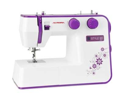 Швейная машина Aurora Style 90, фиолетовый